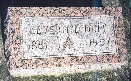 DUFF, LEVERN L. - O'Brien County, Iowa | LEVERN L. DUFF
