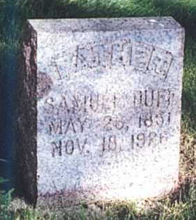 DUFF, SAMUEL - O'Brien County, Iowa | SAMUEL DUFF