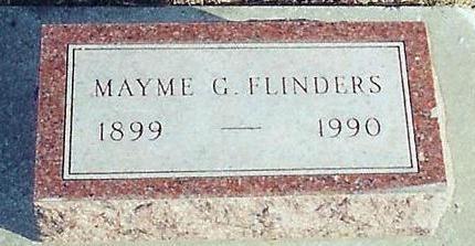 FLINDERS, MAYME G - O'Brien County, Iowa | MAYME G FLINDERS