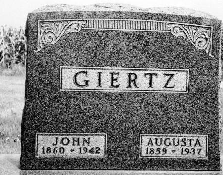 GIERTZ, JOHN - O'Brien County, Iowa | JOHN GIERTZ