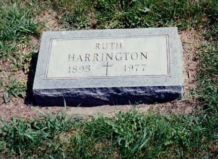 HARRINGTON, RUTH - O'Brien County, Iowa | RUTH HARRINGTON