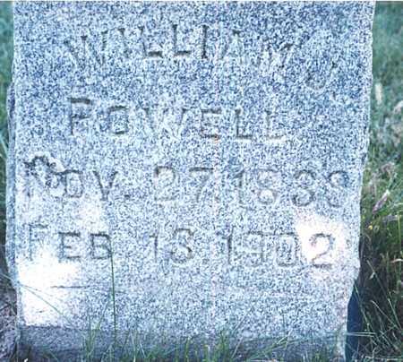 POWELL, WILLIAM J. - O'Brien County, Iowa   WILLIAM J. POWELL