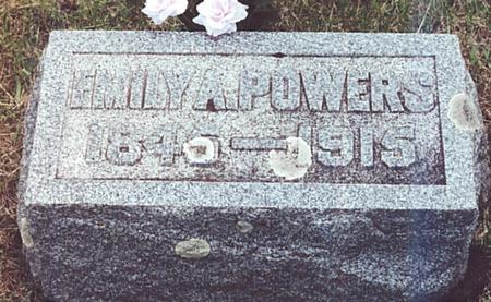 POWERS, EMILY - O'Brien County, Iowa | EMILY POWERS