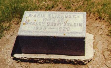 SEUFFERLEIN, MARIE ELIZABETH - O'Brien County, Iowa | MARIE ELIZABETH SEUFFERLEIN