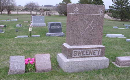 SWEENEY, FAMILY STONES - O'Brien County, Iowa | FAMILY STONES SWEENEY