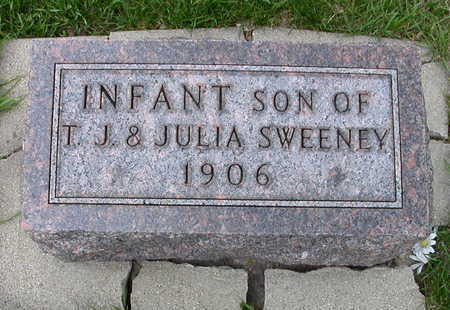 SWEENEY, INFANT SON OF THOMAS & JULIA - O'Brien County, Iowa | INFANT SON OF THOMAS & JULIA SWEENEY