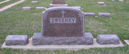 SWEENEY, THOMAS AND JULIA FAMILY STONE - O'Brien County, Iowa | THOMAS AND JULIA FAMILY STONE SWEENEY