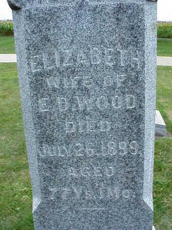 SHIMER WOOD, ELIZABETH - O'Brien County, Iowa   ELIZABETH SHIMER WOOD