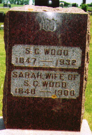 WOOD, SARAH  PRISCILLA - O'Brien County, Iowa | SARAH  PRISCILLA WOOD