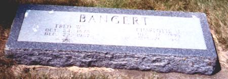 BANGERT, FRED W. - Osceola County, Iowa | FRED W. BANGERT