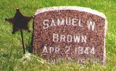 BROWN, SAMUEL - Osceola County, Iowa | SAMUEL BROWN