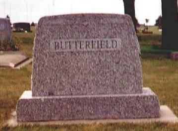 BUTTERFIELD, E. R. - Osceola County, Iowa | E. R. BUTTERFIELD