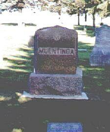 MUENTINGA, FAMILY TOMBSTONE - Osceola County, Iowa | FAMILY TOMBSTONE MUENTINGA