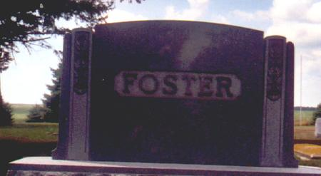 FOSTER, WILLIAM - Osceola County, Iowa | WILLIAM FOSTER