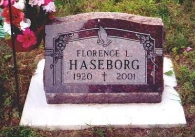 HASEBORG, FLORENCE - Osceola County, Iowa | FLORENCE HASEBORG