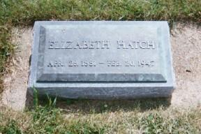LOGAN HATCH, ELIZABETH - Osceola County, Iowa | ELIZABETH LOGAN HATCH