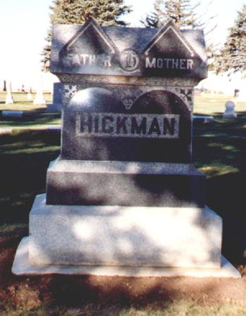 HICKMAN, FAMILY TOMBSTONE - Osceola County, Iowa | FAMILY TOMBSTONE HICKMAN