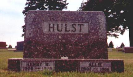 HULST, ALLIE - Osceola County, Iowa | ALLIE HULST