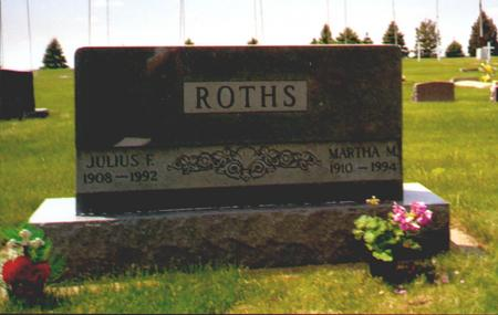 ROTHS, MARTHA - Osceola County, Iowa | MARTHA ROTHS