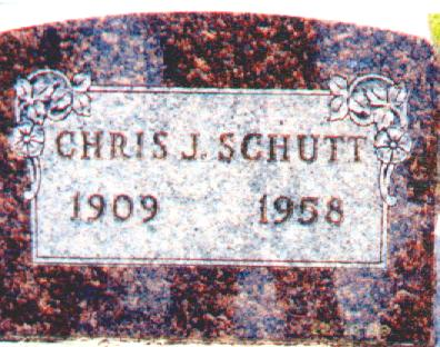 SCHUTT, CHRIS J. - Osceola County, Iowa | CHRIS J. SCHUTT