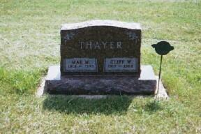 THAYER, CLIFF - Osceola County, Iowa | CLIFF THAYER