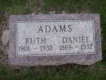 ADAMS, RUTH - Page County, Iowa | RUTH ADAMS