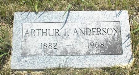 ANDERSON, ARTHUR F. - Page County, Iowa | ARTHUR F. ANDERSON
