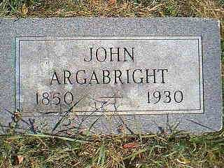 ARGABRIGHT, JOHN - Page County, Iowa | JOHN ARGABRIGHT