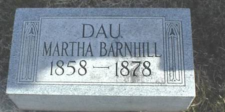 BARNHILL, MARTHA - Page County, Iowa | MARTHA BARNHILL