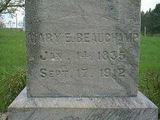 BEAUCHAMP, MARY E. - Page County, Iowa | MARY E. BEAUCHAMP