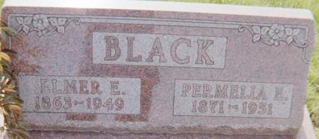 BLACK, ELMER E. - Page County, Iowa | ELMER E. BLACK