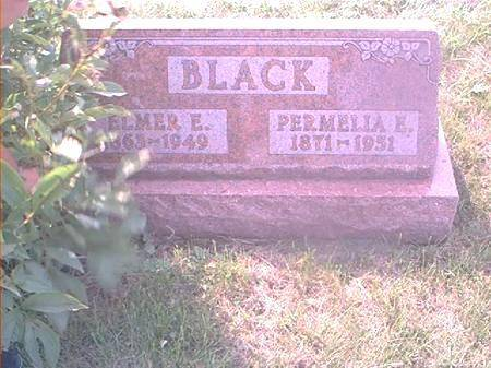 BLACK, PERMELIA E - Page County, Iowa | PERMELIA E BLACK
