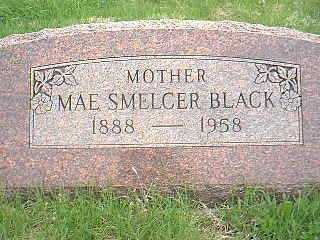 SMELCER BLACK, MAE - Page County, Iowa | MAE SMELCER BLACK