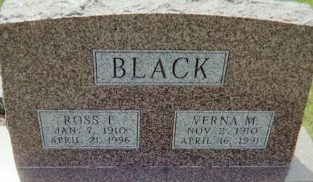 BLACK, VERNA M. - Page County, Iowa | VERNA M. BLACK