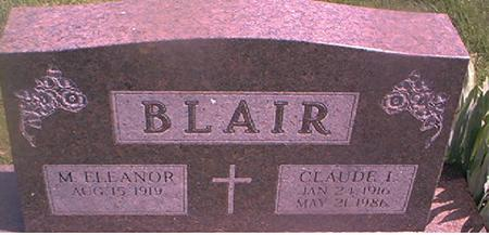 BLAIR, M. ELEANOR - Page County, Iowa | M. ELEANOR BLAIR