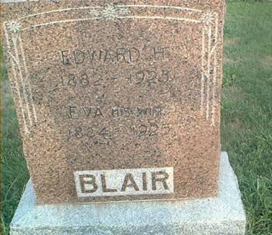 BLAIR, EDWARD H - Page County, Iowa | EDWARD H BLAIR