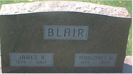 BLAIR, MARGARET W. - Page County, Iowa | MARGARET W. BLAIR