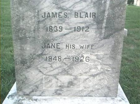 BLAIR, JANE - Page County, Iowa | JANE BLAIR
