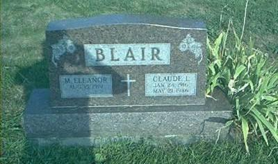 BLAIR, M ELEANOR - Page County, Iowa | M ELEANOR BLAIR