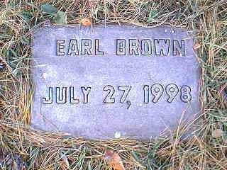 BROWN, EARL - Page County, Iowa | EARL BROWN