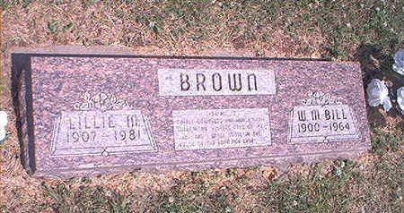 BROWN, LILLIE MAY - Page County, Iowa | LILLIE MAY BROWN