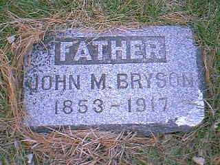 BRYSON, JOHN M. - Page County, Iowa | JOHN M. BRYSON