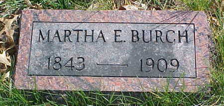 BURCH, MARTHA E. - Page County, Iowa | MARTHA E. BURCH