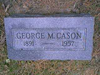 CASON, GEORGE M. - Page County, Iowa | GEORGE M. CASON