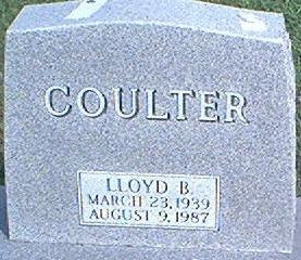 COULTER, LLOYD B. - Page County, Iowa | LLOYD B. COULTER