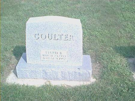 COULTER, LLOYD B - Page County, Iowa | LLOYD B COULTER