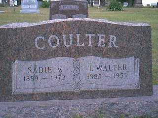 COULTER, SADIE - Page County, Iowa | SADIE COULTER