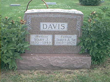 DAVIS, JAMES ALEXANDER SR. - Page County, Iowa | JAMES ALEXANDER SR. DAVIS