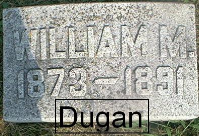 DUGAN, WILLIAM M. - Page County, Iowa | WILLIAM M. DUGAN