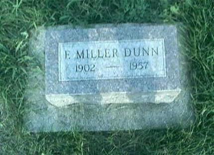 DUNN, F MILLER - Page County, Iowa | F MILLER DUNN